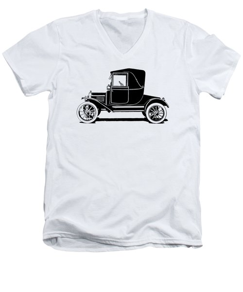 1915 Ford Coupelet Min Men's V-Neck T-Shirt