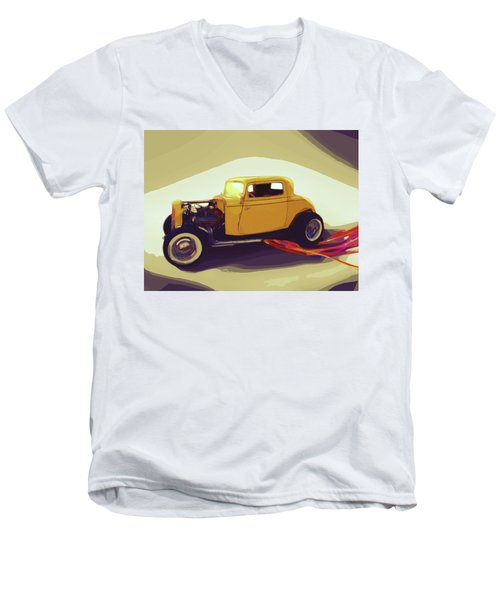 1932 Ford Coupe Men's V-Neck T-Shirt