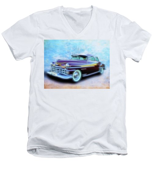 1950 Chrysler Men's V-Neck T-Shirt