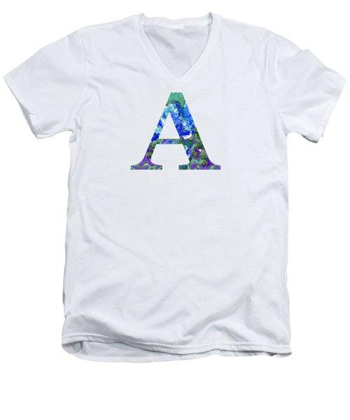 A 2019 Collection Men's V-Neck T-Shirt