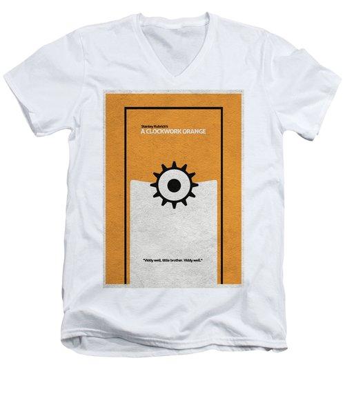 A Clockwork Orange Men's V-Neck T-Shirt