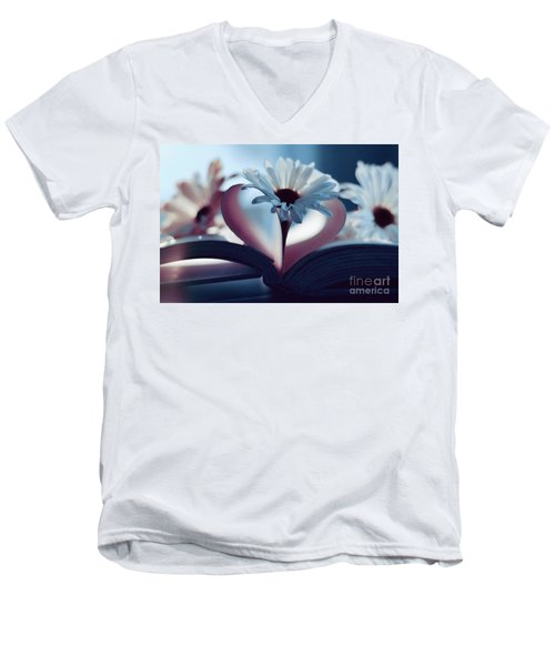 A Little Love And Light In Your Heart Men's V-Neck T-Shirt