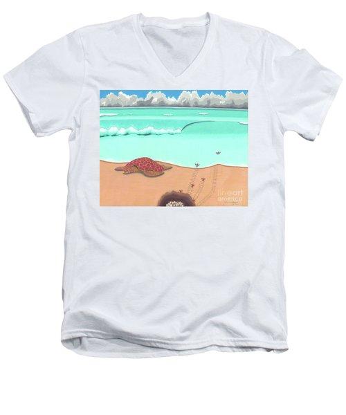 A New Beginning Men's V-Neck T-Shirt
