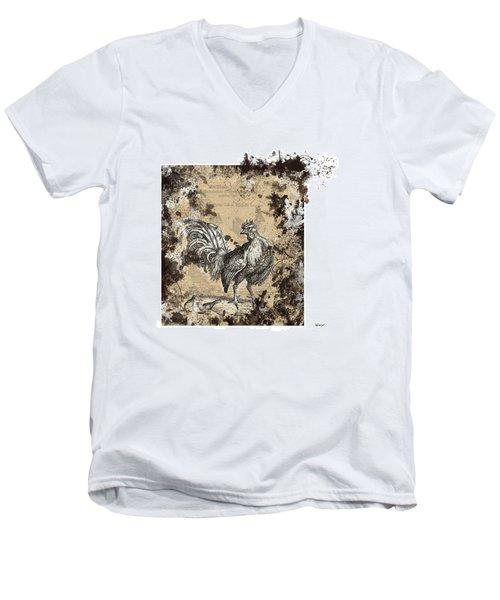Adam Lonitzer 1593, Barlow 1690 Men's V-Neck T-Shirt