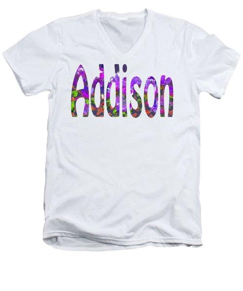 Addison Men's V-Neck T-Shirt