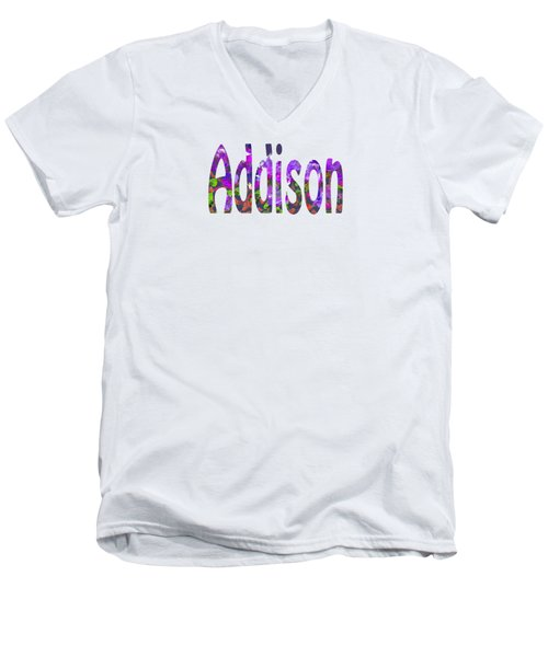 Addison Men's V-Neck T-Shirt