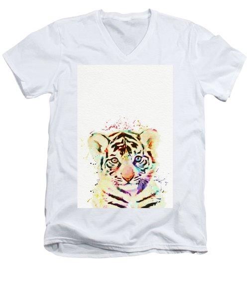 African Animal Men's V-Neck T-Shirt