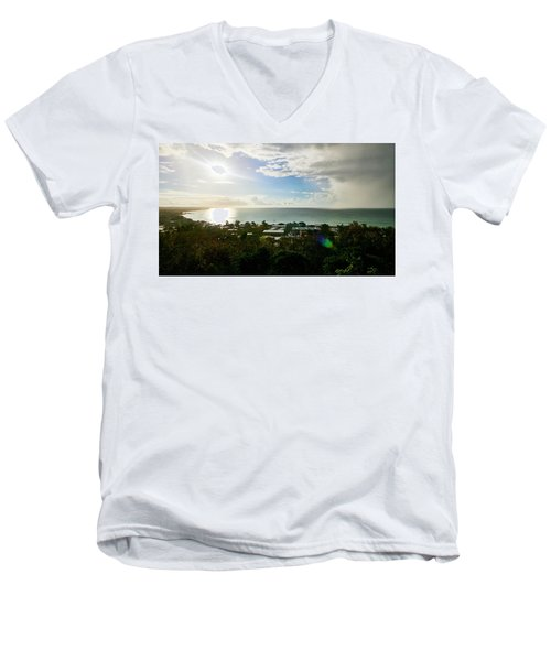 Aguada Sunset Men's V-Neck T-Shirt