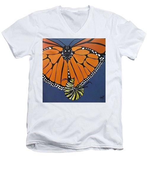 Ah To Fly Men's V-Neck T-Shirt
