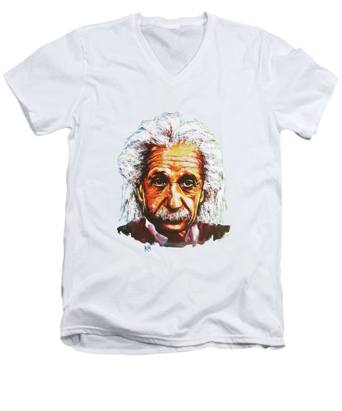 Albert Tribute Men's V-Neck T-Shirt