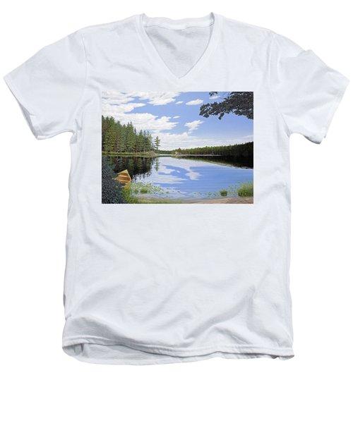 Algonquin Portage Men's V-Neck T-Shirt