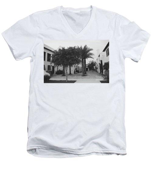 Alys Streetscape Men's V-Neck T-Shirt