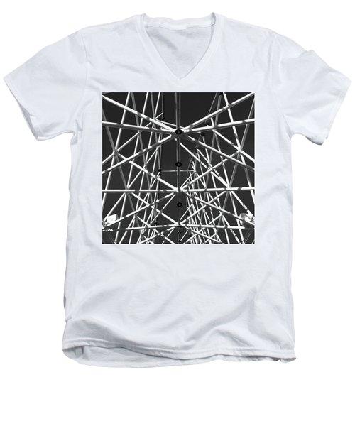 Amorphous  Sensations Men's V-Neck T-Shirt