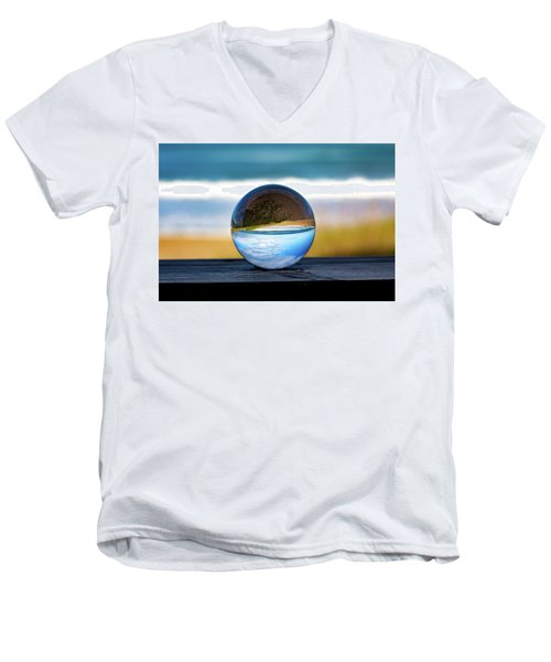 Another Look Through The Lens Men's V-Neck T-Shirt