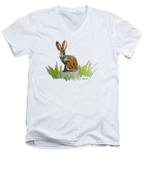 Arogs Rabbit Men's V-Neck T-Shirt