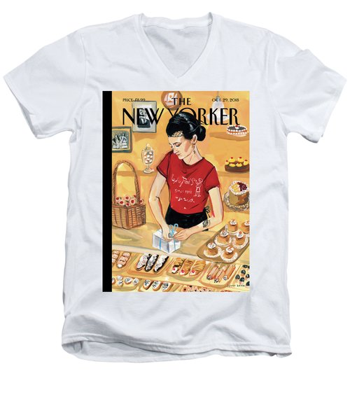 Arthur Avenue Men's V-Neck T-Shirt