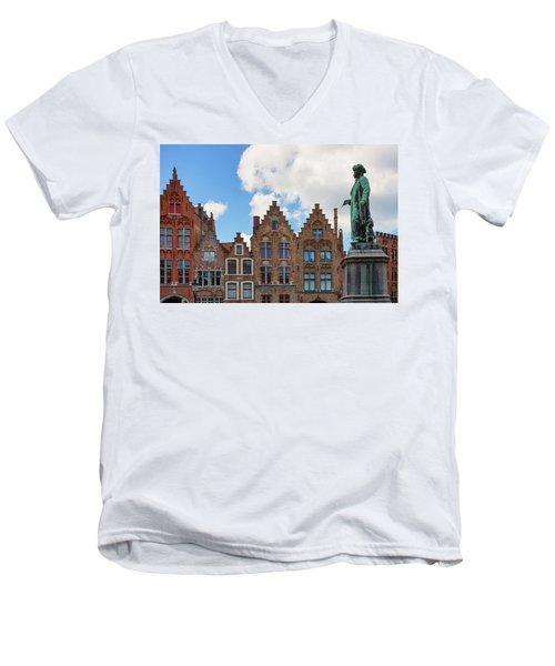 As Eyck Can Men's V-Neck T-Shirt