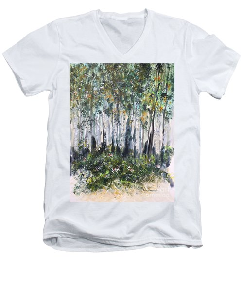 Aspenwood Men's V-Neck T-Shirt
