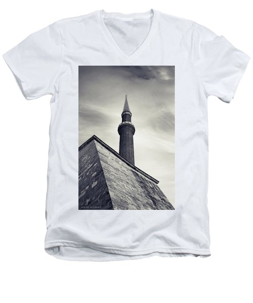At Mosque-point Men's V-Neck T-Shirt