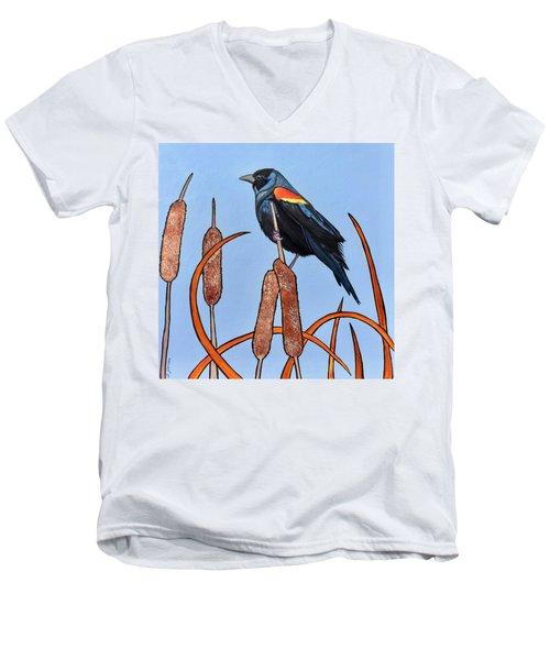 At The Pond Men's V-Neck T-Shirt