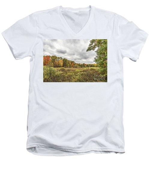 Autumn Has Been Found In Michigan Men's V-Neck T-Shirt