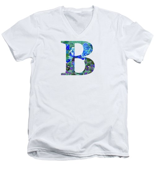B 2019 Collection Men's V-Neck T-Shirt