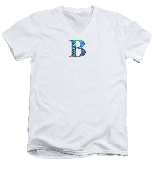 B 2019 Collection Men's V-Neck T-Shirt