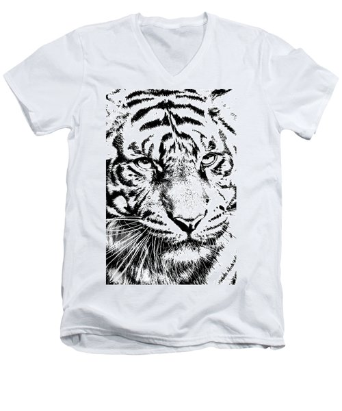 Bad Kitty Men's V-Neck T-Shirt