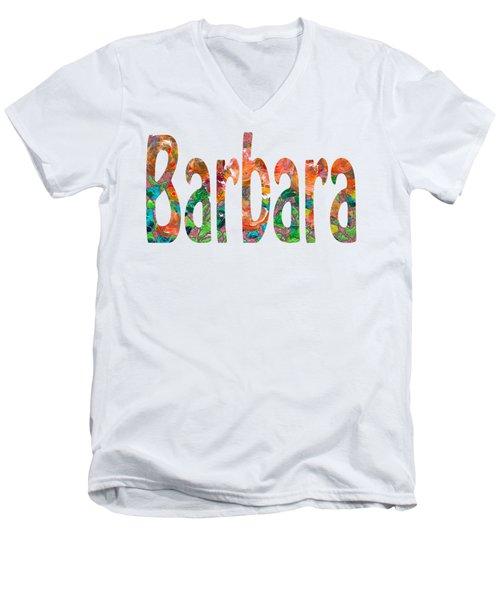 Barbara Men's V-Neck T-Shirt