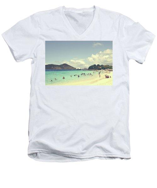 Beachscape Men's V-Neck T-Shirt