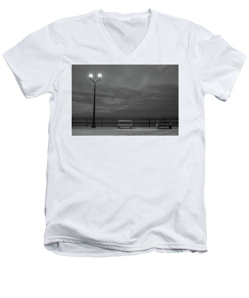 Before Dawn On The Boards Men's V-Neck T-Shirt