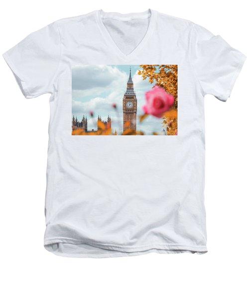Ben Men's V-Neck T-Shirt