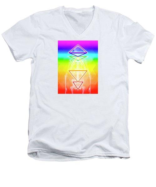 BGI Men's V-Neck T-Shirt