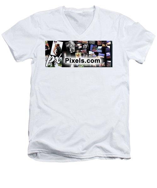 Billboard Men's V-Neck T-Shirt