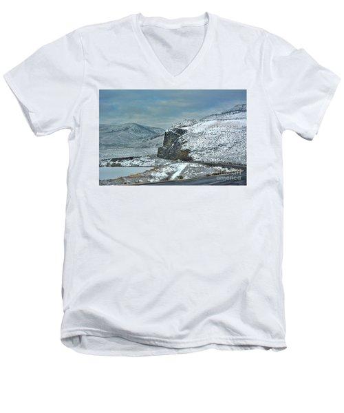 Blind Corner Men's V-Neck T-Shirt