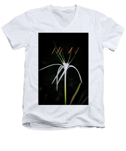 Blooming Poetry 3 Men's V-Neck T-Shirt