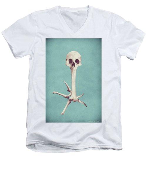 Blue Syzygy Men's V-Neck T-Shirt