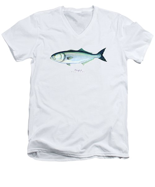 Bluefish Men's V-Neck T-Shirt
