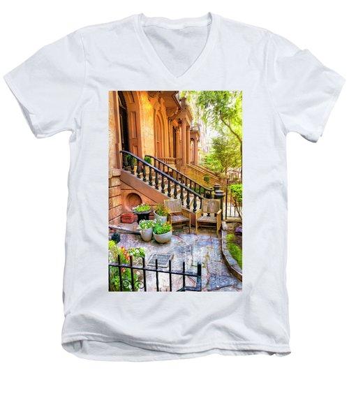 Boston Series 5308 Men's V-Neck T-Shirt