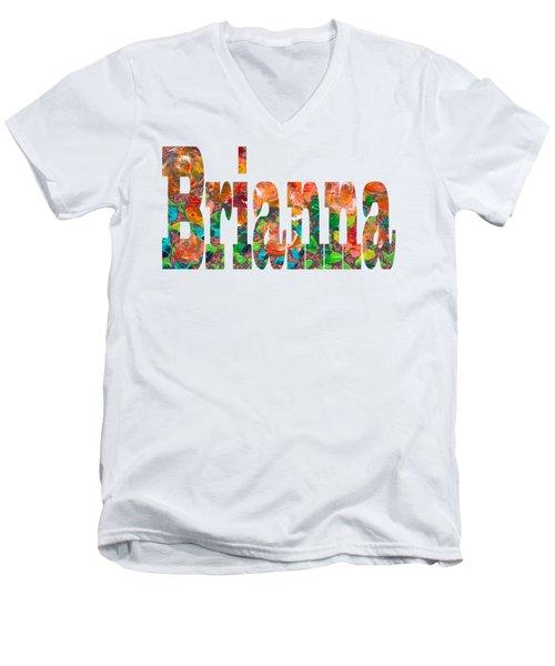 Brianna Men's V-Neck T-Shirt
