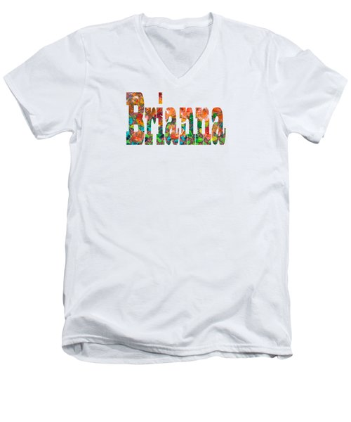 Brianna Men's V-Neck T-Shirt