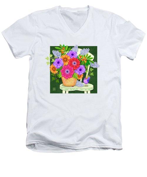 Bright Side  Men's V-Neck T-Shirt