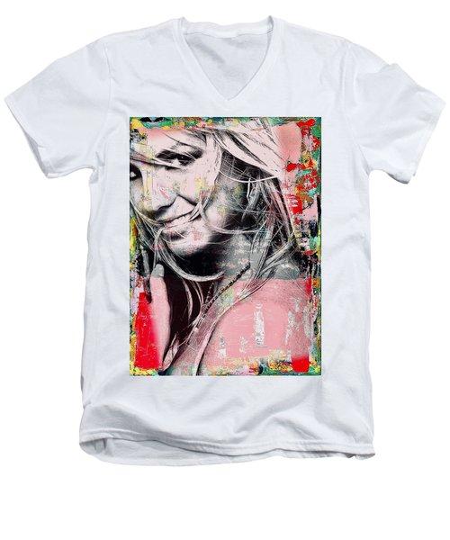 Britney Baby Men's V-Neck T-Shirt