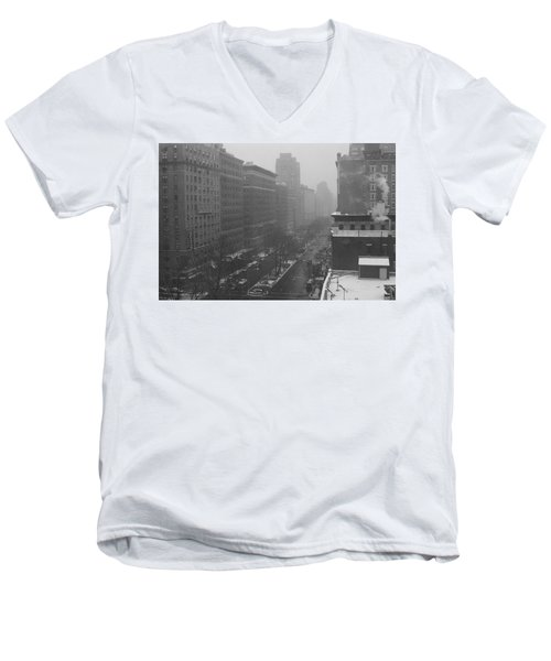 Broadway Men's V-Neck T-Shirt
