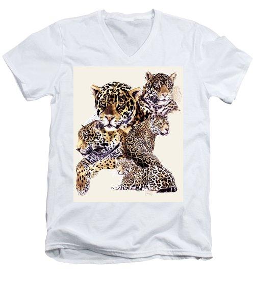 Burn Men's V-Neck T-Shirt