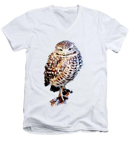Burrowing Owl Canvas Print,photographic Print,art Print,framed Print,greeting Card,iphone Case, Men's V-Neck T-Shirt