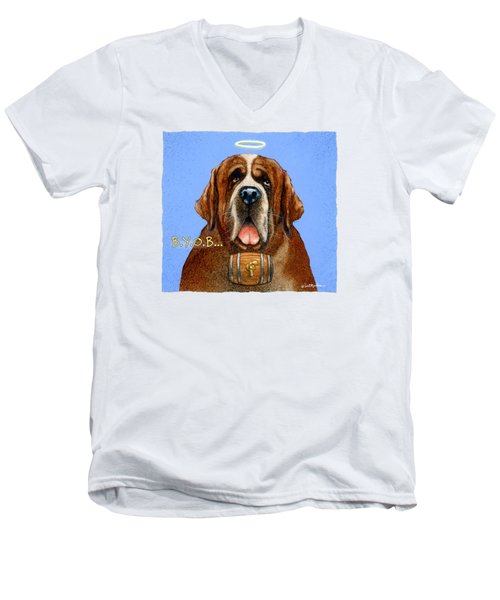 B.y.o.b... Men's V-Neck T-Shirt