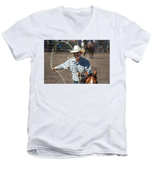 Calf Roper Men's V-Neck T-Shirt