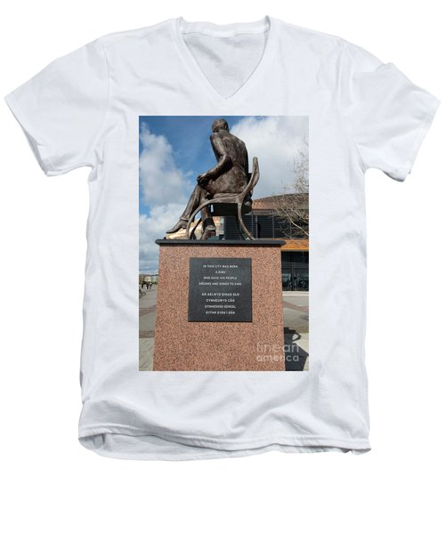 Cardiff Photo 10  Men's V-Neck T-Shirt