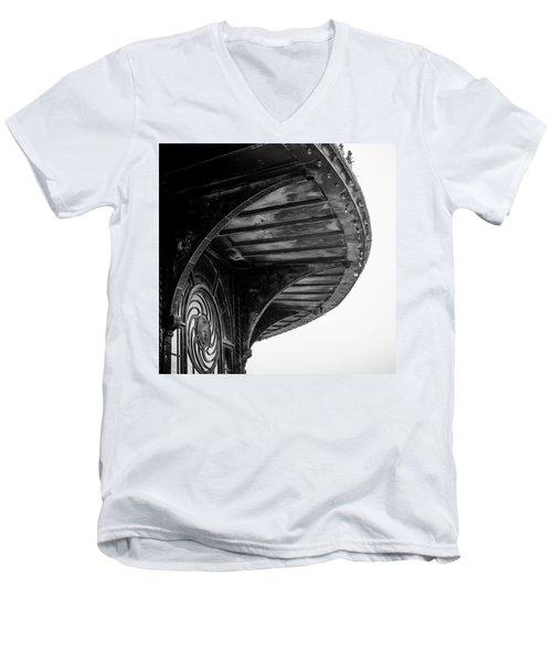 Carousel House Detail Men's V-Neck T-Shirt